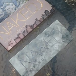 Urban Decay naked Smoky and Naked 3 eye palettes